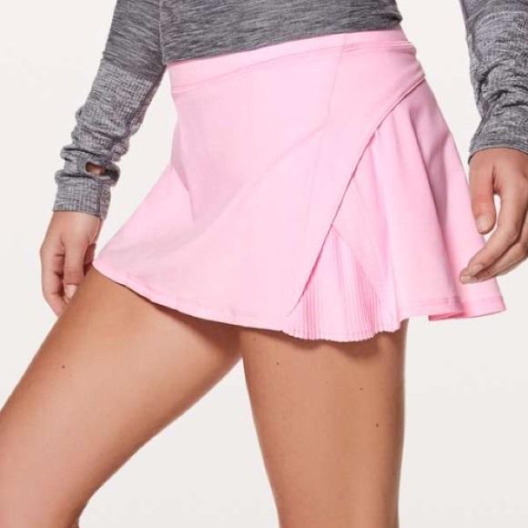 eb51a09c1 lululemon athletica Skirts   Nwt Pearl Pink Lululemon Play Off The ...